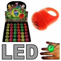 LED Leuchtringe mit Gesichtern Leuchtring  VE36
