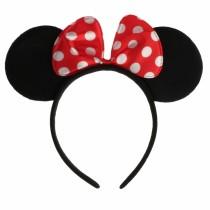 Haareifen Maus Ohren Minnie Mouse Karneval Fasching Mausi Ohren  VE12