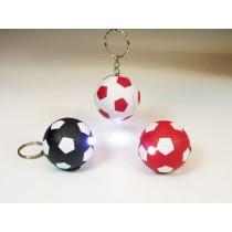 Taschenlampe Fußball Schlüsselanhänger 4 cm LED Taschenlampe versch. Farben  VE12