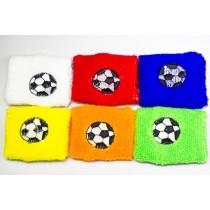 Schweissarmband Fußball Schweißband Schweißarmbänder Schweissband  VE12