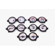 Spaßbrille Nerdbrille Karneval Spassbrille JGA Fun 14 cm versch. sortiert  VE48