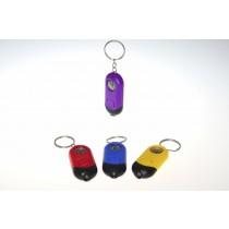 LED Taschenlampe mit Kompass und Schlüsselanhänger VE12