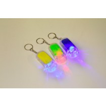 Schlüsselanhänger AUTO LED 6 cm VE12