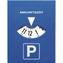 Mitlaufende Parkscheibe mit Uhrwerk - elektronische Parkuhr m. Run Stop Schalter   VE1