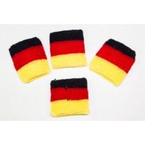 Schweißband in Deutschland Farben Schweissband BRD  VE48