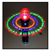 LED Karussell Flashing Doodler mit Discokugel VE6