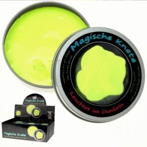 Magische Knete Intelligente Knete leuchtet im Dunkeln Super Knete 8cm VE24