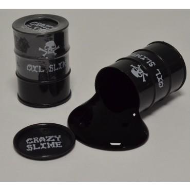 Schleim Ölpest schwarz Glibber Ölschleim Slimytonne Pupsschleim VE12